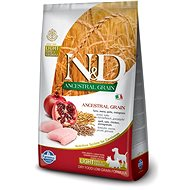 N&D low grain DOG Light M/L Chicken&Pomegranate 12 kg - Granuly pre psov