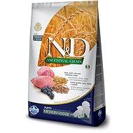 N&D low grain DOG Puppy M/L Lamb & Blueberry 2,5 kg - Granuly pre šteniatka
