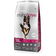 Nutrilove ADULT M fresh chicken 8 kg