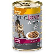 Nutrilove kuracie v želé 400 g - Konzerva pre mačky