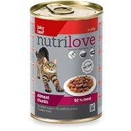 Nutrilove hovädzie v želé 400 g - Konzerva pre mačky