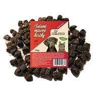 NATURECA maškrta mäsové kocky – jahňa, 100 % mäso 150 g - Sušené mäso pre psov