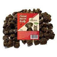 NATURECA pochúťka Mäsové kocky – Jeleň, 100 % mäso 150 g - Sušené mäso pre psov