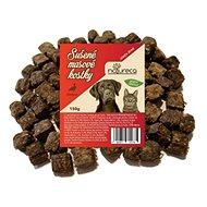 NATURECA pochútka mäsové kocky – Kačka, 100 % mäso 150 g - Sušené mäso pre psov