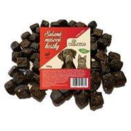 NATURECA pochúťka mäsové kocky – Zajac, 100 % mäso 150 g - Sušené mäso pre psov