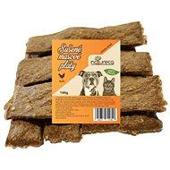 NATURECA pochúťka mäsové pláty – Kura, 100 % mäso 100 g - Sušené mäso pre psov