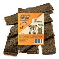 NATURECA pochúťka mäsové pláty – Bažant, 100 % mäso 100 g - Sušené mäso pre psov