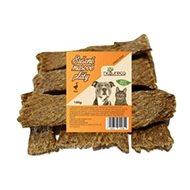 NATURECA pochúťka Mäsové pláty Hus, 100 % mäso 100 g - Sušené mäso pre psov