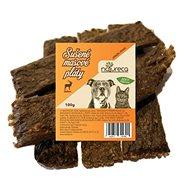 NATURECA pochúťka Mäsové pláty – Jeleň, 100 % mäso 100 g - Sušené mäso pre psov