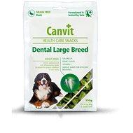 Canvit Snacks Dental Large Breed – Duck 250 g - Maškrty pre psov