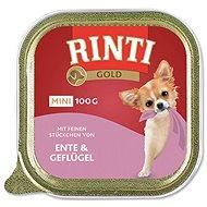 Vaňa pre psov FINNERN vanička  Rinti Gold Mini kačka + hydina 100 g