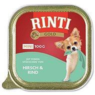 Vaňa pre psov FINNERN vanička Rinti Gold Mini jeleň + hovädzie 100 g