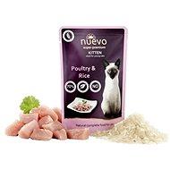 Nuevo mačiatko kapsa hydina s ryžou 85 g - Kapsička pre mačky