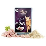 Nuevo mačka kapsa sterilized hydina s ryžou 85 g - Kapsička pre mačky