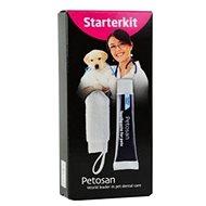 Sada na dentálnu hygienu Petosan štartovacia súprava kefka na prst + pasta 20 g 1 ks