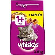WHISKAS granule s kuracím mäsom 3,8 kg - Granuly pre mačky