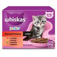 WHISKAS Klasický výber v šťave 12× 100 g - Kapsička pre mačky