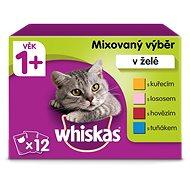 Whiskas Mixovaný výber v želé 12× 100 g - Kapsička pre mačky