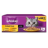 WHISKAS Hydinový výber v štave 12× 100 g - Kapsička pre mačky