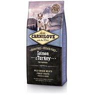 Carnilove salmon & turkey for puppy 12kg - Granuly pre šteniatka