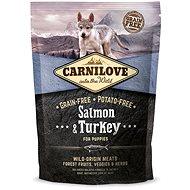 Carnilove salmon & turkey for puppy 1,5kg - Granuly pre šteniatka