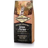 Carnilove salmon & turkey for large breed puppy 12kg - Granuly pre šteniatka