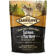Carnilove salmon & turkey for large breed adult 1,5kg - Granuly pre psov