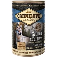 Carnilove wild meat salmon & turkey 400 g - Konzerva pre psov