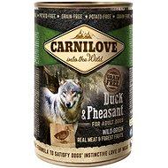 Carnilove wild meat duck & pheasant 400 g - Konzerva pre psov