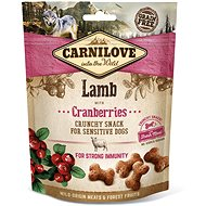 Carnilove dog crunchy snack lamb with cranberries with fresh meat 200 g - Maškrty pre psov