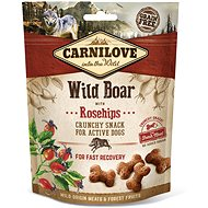 Carnilove dog crunchy snack wild boar with rosehips with fresh meat 200 g - Maškrty pre psov