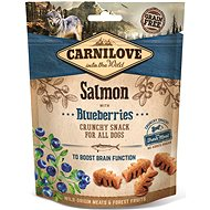 Carnilove dog crunchy snack salmon with blueberries with fresh meat 200 g - Maškrty pre psov