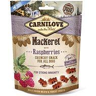 Carnilove dog crunchy snack mackerel with raspberries with fresh meat 200 g - Maškrty pre psov