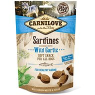 Carnilove dog semi moist sardines enriched with wild garlic 200 g - Maškrty pre psov