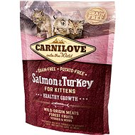 Carnilove salmon & turkey for kittens – healthy growth 400 g - Granuly pre mačiatka