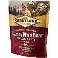 Carnilove lamb & wild boar for adult cats – sterilised 400 g - Granule pre mačky