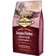 Carnilove salmon & turkey for kittens – healthy growth 2 kg - Granuly pre mačiatka