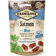 Carnilove cat crunchy snack salmon with mint with fresh meat 50 g - Maškrty pre mačky
