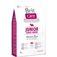 Brit Care junior large breed lamb & rice 3kg - Granule pre šteniatka