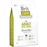 Brit Care adult small breed lamb & rice 3kg - Granuly pre psov