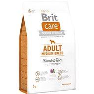 Brit Care adult medium breed lamb & rice 3kg - Granuly pre psov