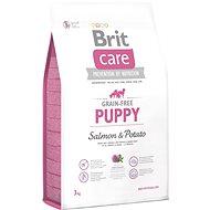 Brit Care grain-free puppy salmon & potato 3kg - Granuly pre šteniatka