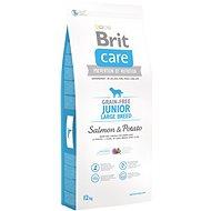 Brit Care grain-free junior large breed salmon & potato 12kg - Granuly pre šteniatka