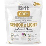 Brit Care grain-free senior & light salmon & potato 1kg - Granuly pre psov