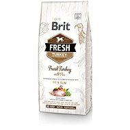 Brit Fresh turkey with pea Light Fit & Slim 12 kg - Granuly pre psov