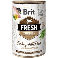 Brit Fresh turkey with peas 400 g - Konzerva pre psov