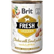 Brit Fresh chicken with sweet potato 400 g - Konzerva pre psov