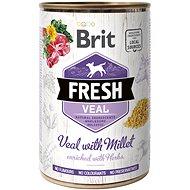 Brit Fresh Veal with millet 400 g - Konzerva pre psov