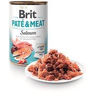 Brit Paté & Meat Salmon 400 g - Konzerva pre psov