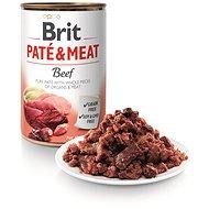 Brit Paté & Meat Beef 400 g - Konzerva pre psov